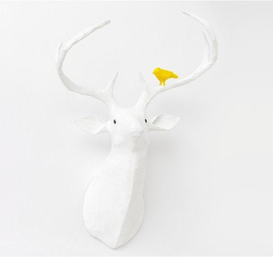 Dwell Studio Deer Papier-Mach Head