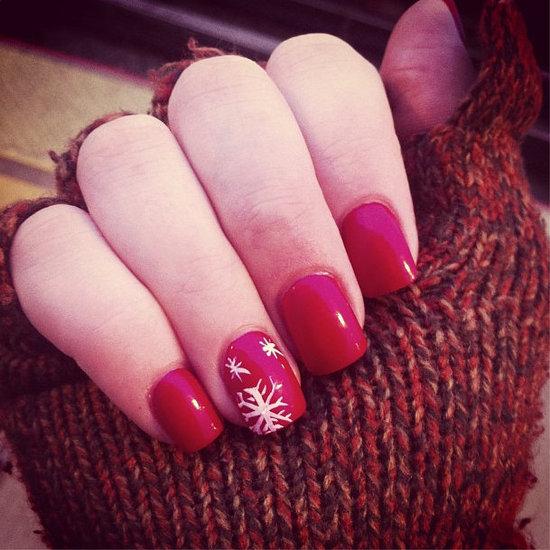 Easy Christmas Nail Art Designs Tutorial: Holiday Nail Art Designs