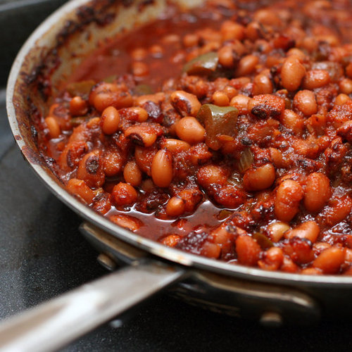 Baked Barbecue Black-Eyed Peas