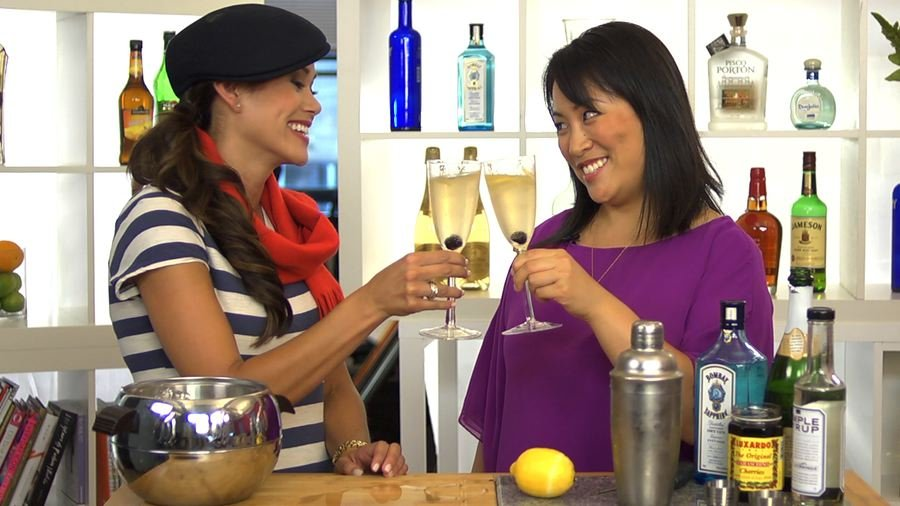 Have a Bubbly New Year's With a French 75!
