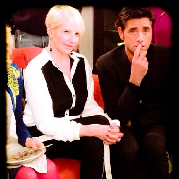 John Stamos worked on The New Normal with Ellen Barkin. Source: Instagram user johnstamos