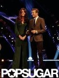 Kate Middleton was joined by David Beckham on stage at London's BBC Sports Personality of the Year awards.