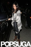 Jenna Dewan got into her car in LA.