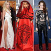 Best Most Outrageous Celebrity Red Carpet Looks of 2012