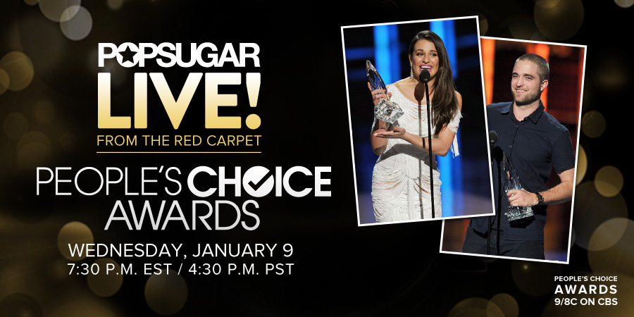 Join Us LIVE From the People's Choice Awards Red Carpet This Wednesday!