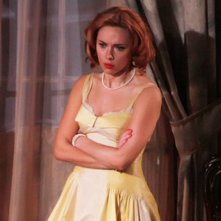 Scarlett Johansson in Bra on Broadway | Pictures