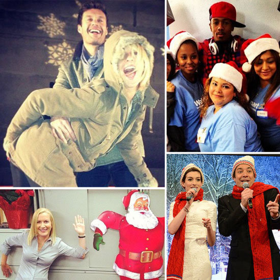 Stars Get in the Holiday Spirit!