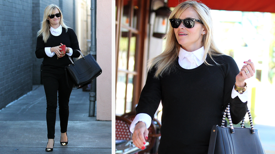 Reese Witherspoon Proves the Power of Black and White