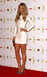 Jen showed off her hot figure (and legs!) in a white mini at the 2010 Logie Awards in Melbourne.