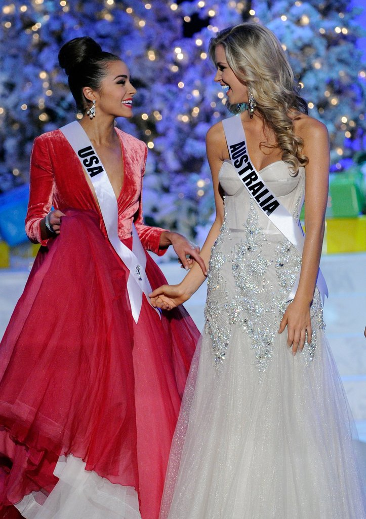 MIss USA and Miss Australia