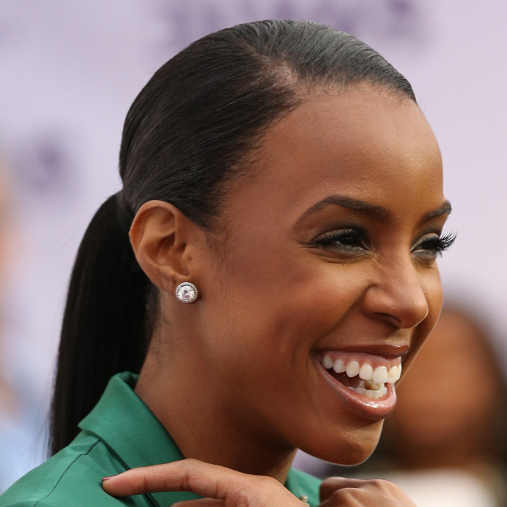 Kelly Rowland's amazing lashes