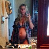 Bikini Baby Bump