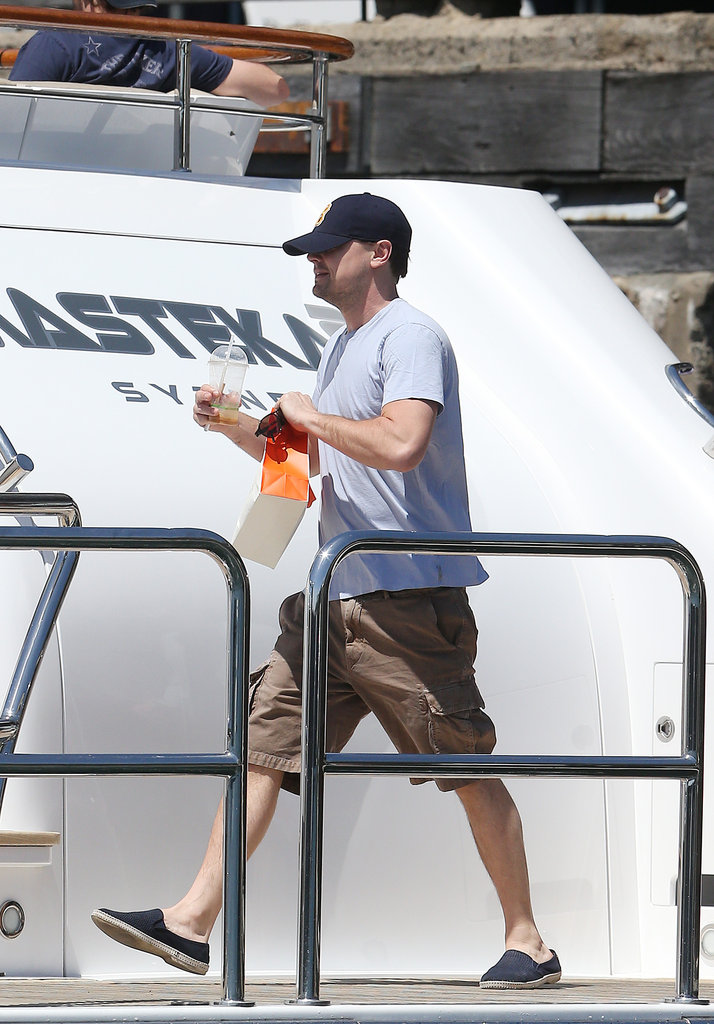 Leonardo DiCaprio and Jonah Hill Party on Sydney Harbour Ahead of New Year's Eve