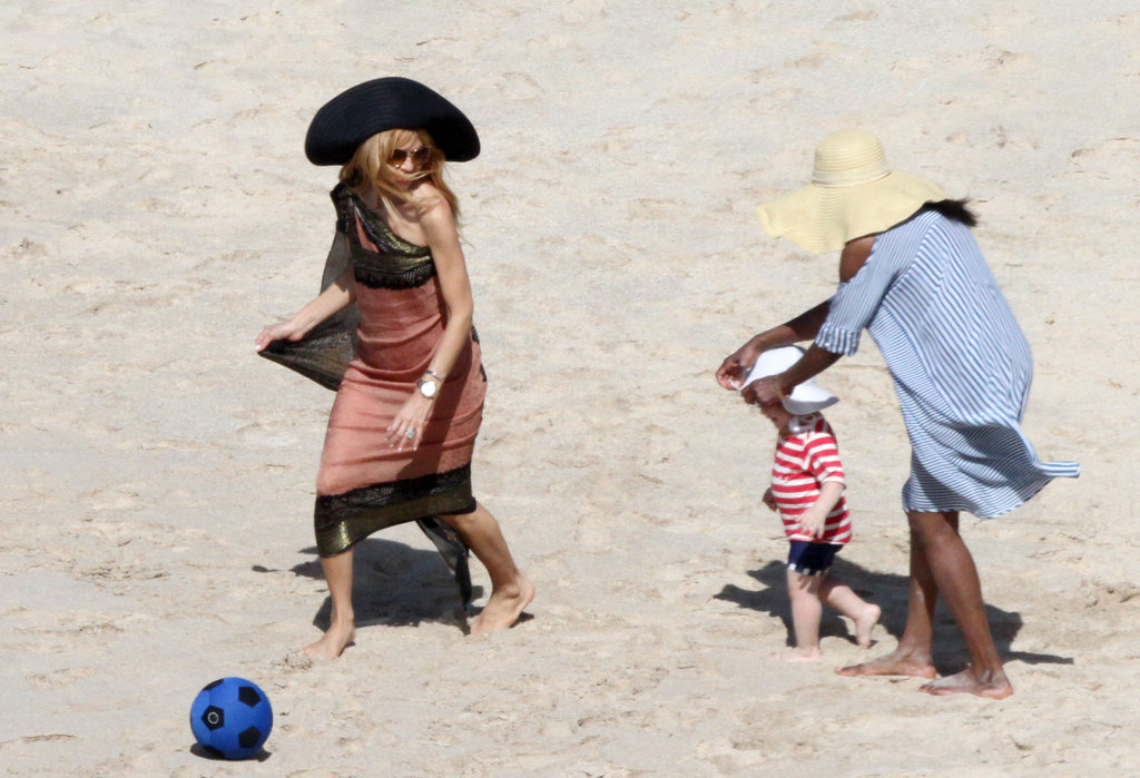 Rachel Zoe Enjoys a Caribbean Getaway With Her Boys