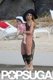 Rachel Zoe took her family to St. Barts for Christmas.