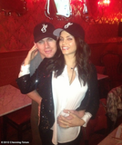 Channing Tatum and his pregnant wife, Jenna, shared a holiday snap.  Source: Channing Tatum on WhoSay
