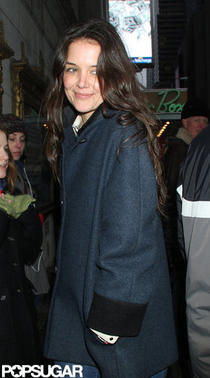 Katie Holmes Gets Back to Work After Christmas Without Suri