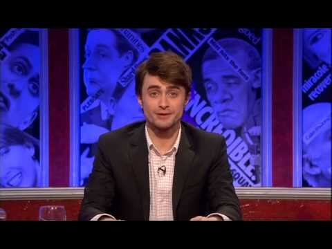 "Daniel Radcliffe guest hosts BBC's ""Have I Got News for You"" show"