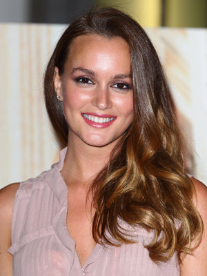 The 31-year old daughter of father Douglas Meester and mother Constance Haas, 164 cm tall Leighton Meester in 2017 photo