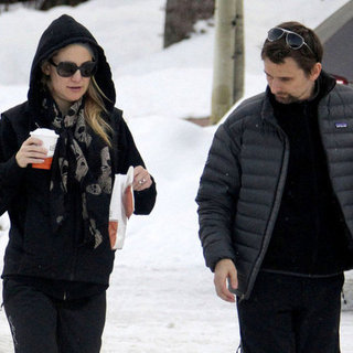 Kate Hudson and Matthew Bellamy Spend Christmas in Aspen