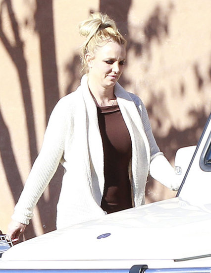 Britney Spears Steps Out While Her X Factor Fate Remains Uncertain