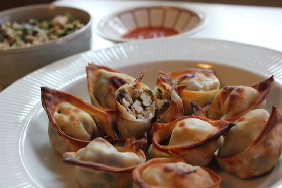 Thai Chicken Wontons