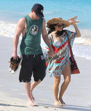 Channing Tatum and Jenna Dewan vacationed in St. Bart's.