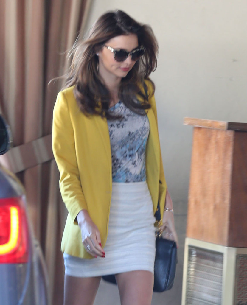 Miranda Kerr Steps Out in Style For a Lunch Meeting in LA