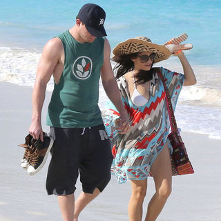 Channing Tatum and Pregnant Jenna Dewan in St Barts