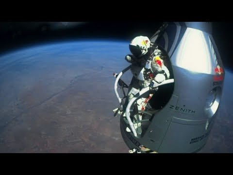 10. Felix Baumgartner's Supersonic Freefall