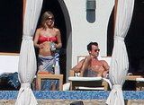 Jen wore a bikini next to a shirtless Justin while in Cabo at the end of 2012.