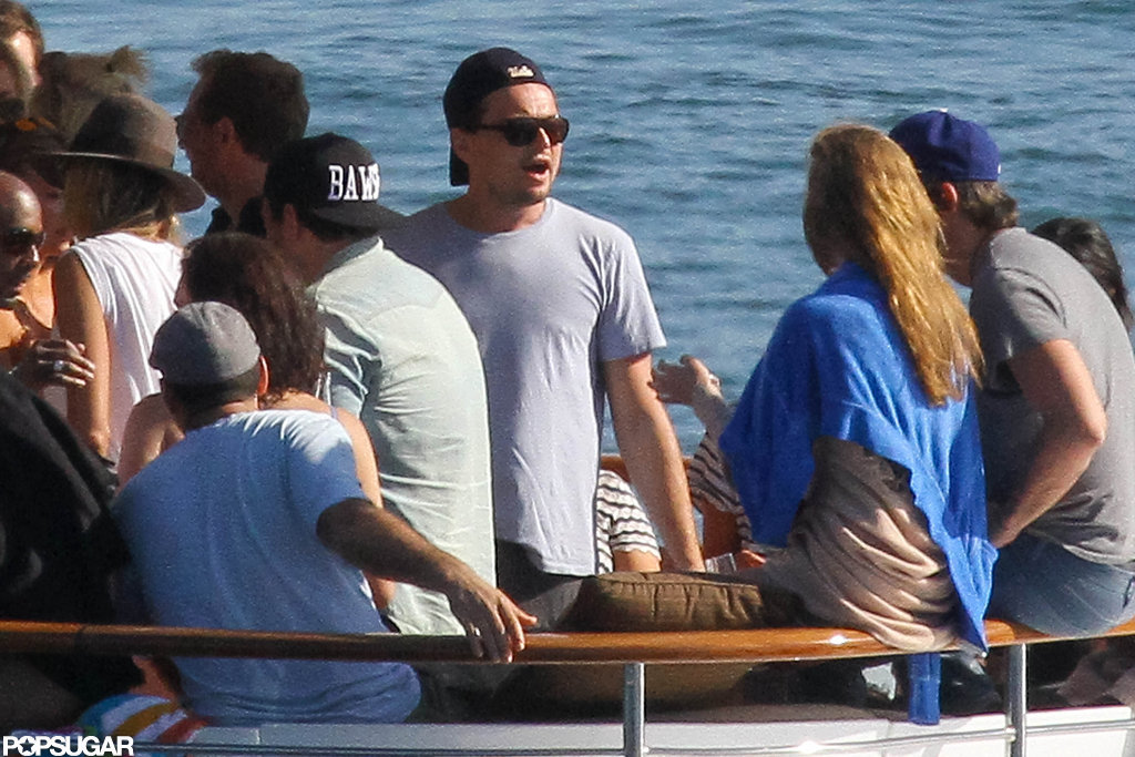 Leonardo DiCaprio and Jonah Hill partied in Australia.