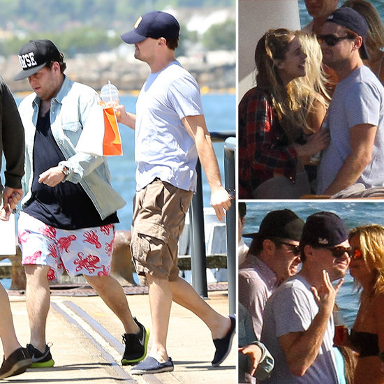 Leonardo DiCaprio and Jonah Hill Party Yachtside in Australia