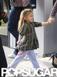 Seraphina Affleck headed to a show with mom Jennifer Garner in LA.