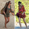 Celebrity Style: Shop Olivia Palermo's Beach Kaftan Cover-Up