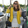 Miranda Kerr Wearing Yellow Blazer