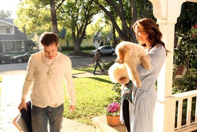 Kyle Bornheimer and Lea Remini in Family Tools.