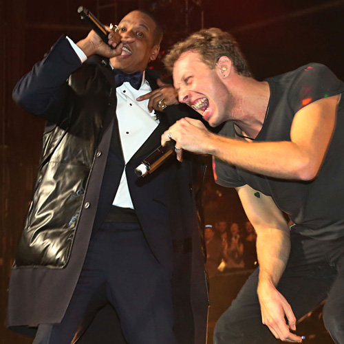 Coldplay, Jay-Z & Gwyneth Paltrow 2012 New Year's Eve