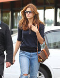 Eva Mendes Wraps Up 2012 With Shopping and Spa Days