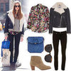 How to Wear a Shearling Jacket | January 2013