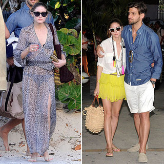 Olivia Palermo in St. Barts | Jan. 2013