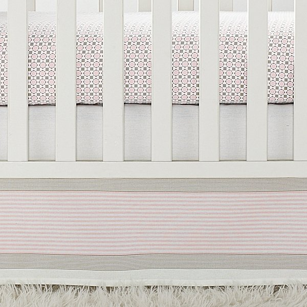Shell Penny Tile Crib Collection ($36-$115)