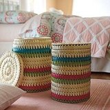Hyannis Stripe Baskets ($68/set of two)