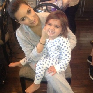Kim Kardashian and Mason Disick Pictures