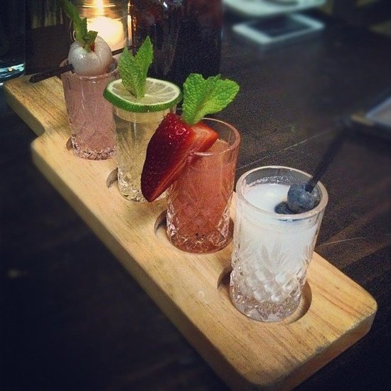 Flight of Cocktails