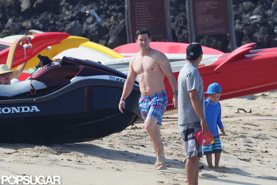Mark Wahlberg took a vacation to Hawaii with his family.