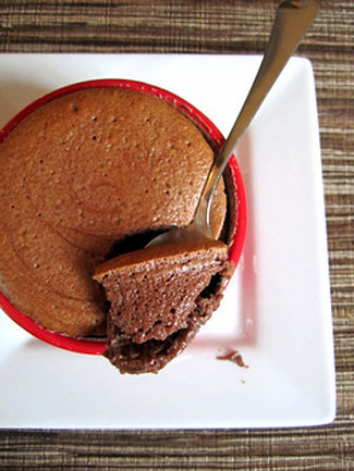 Chocolate Yogurt Souffle