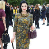 This Year's Best-Dressed Celebrities and Models | 2012