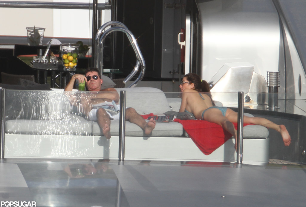 Simon Cowell and his ex-fiancée, Mezhgan Hussainy, vacationed together.