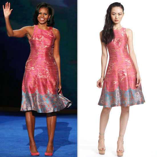 Now's your chance to grab that Tracy Reese dress Michelle Obama wore to the Democratic National Convention.